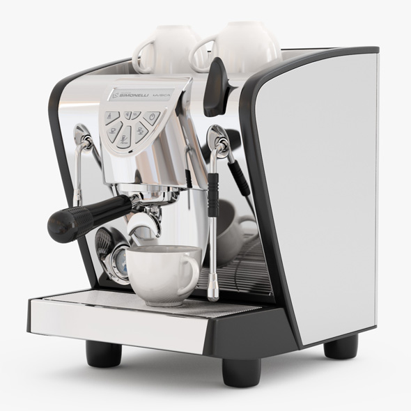 Espresso Machine Simonelli Musica - 3DOcean Item for Sale