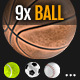 Big Balls Set 9x Sport Ball - GraphicRiver Item for Sale