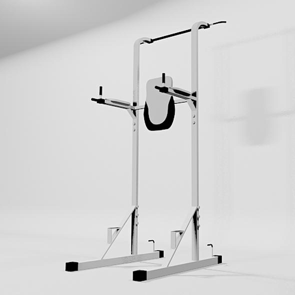 Power Station Gym Machine - 3DOcean Item for Sale