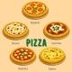 Pizza Italian Cuisine Menu Card
