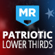 Patriotic Lower Thirds - VideoHive Item for Sale