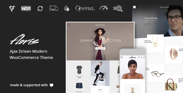 Floris | Minimalist Ajax WooCommerce-Theme