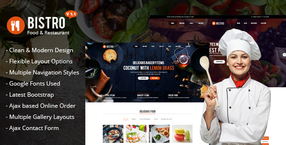 Bistro - Food & Restaurant - Food Retail