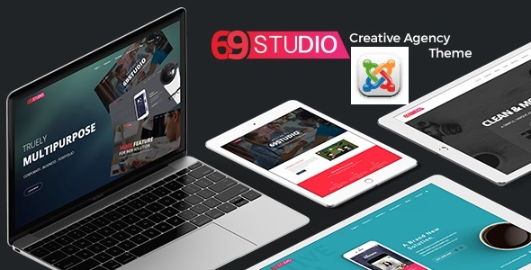 69Studio – Creative Agency Business Joomla Template