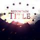 Mountain Title
