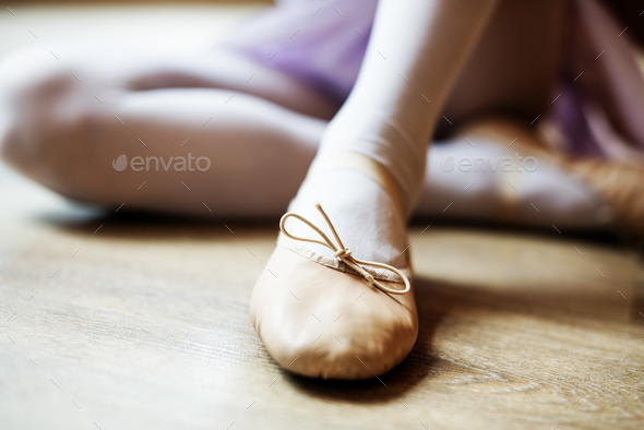 Ballerina Balance Ballet Dance Artistic Performer Concept - Stock Photo - Images
