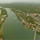 Bentota Town and River From Above - VideoHive Item for Sale