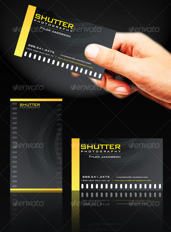 FilmstripPro Business Card - Industry Specific Business Cards
