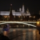 View Of Kremlin At Night In Moscow, Russia. - VideoHive Item for Sale