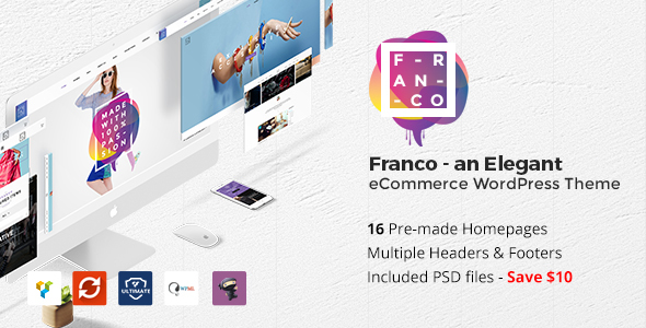 Franco – Elegant WooCommerce WordPress Theme