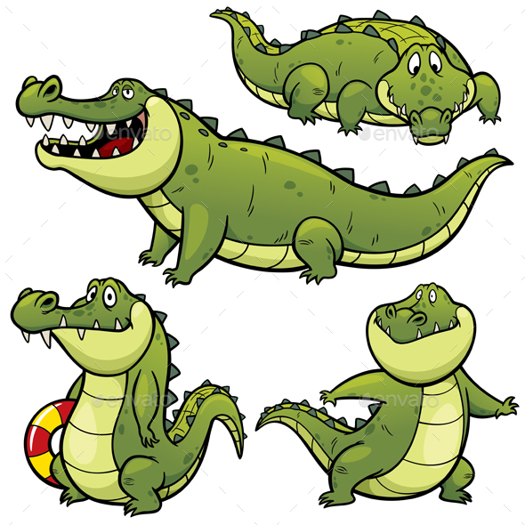 Cartoon Crocodile by SARAROOM | GraphicRiver - photo#15