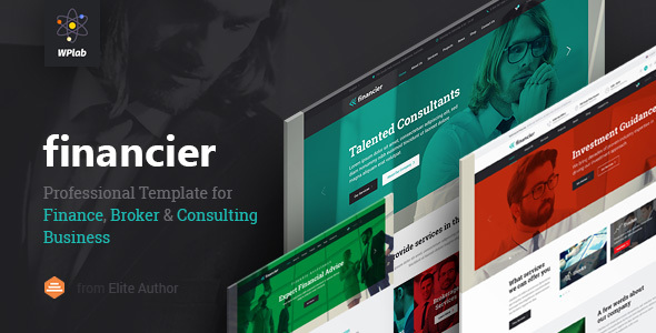 Financier - Finance, Consulting, Broker, Business, Multipurpose WordPress Theme