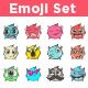 Vector Emoji Set - GraphicRiver Item for Sale