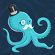 Gentleman Octopus - GraphicRiver Item for Sale