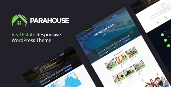 Parahouse – Modern Real Estate WordPress Theme