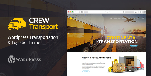 Crewtransport – WordPress Transportation & Logistic Theme