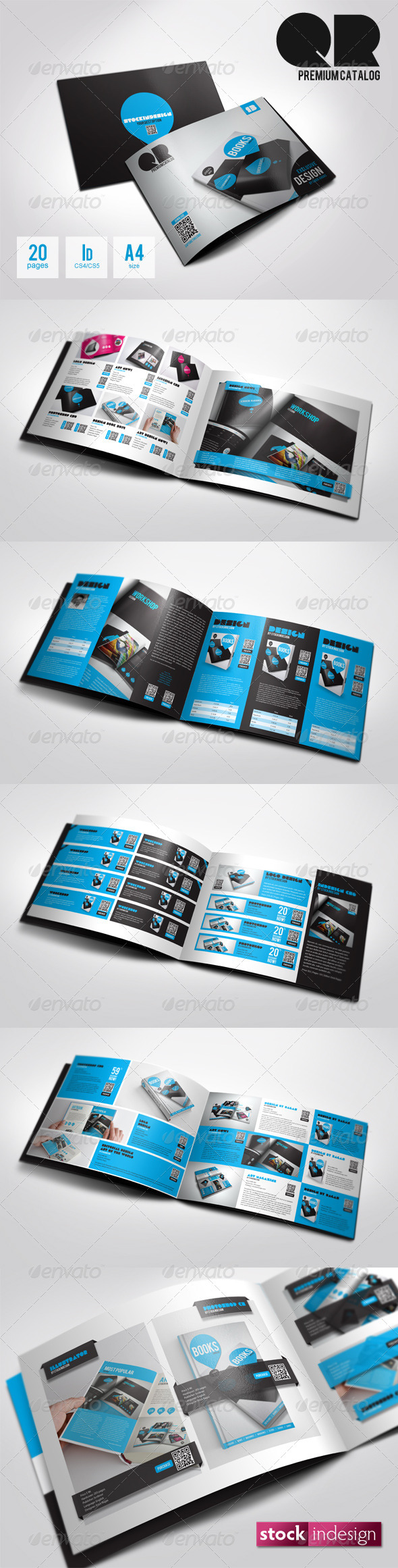 QR Flexible Product Catalog Premium v2 - Catalogs Brochures