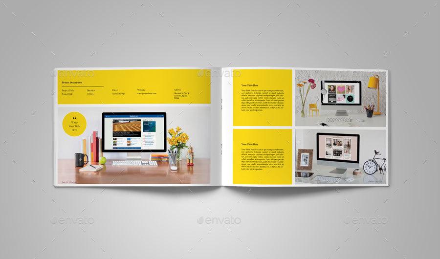 Multipurpose Landscape Portfolio VolII
