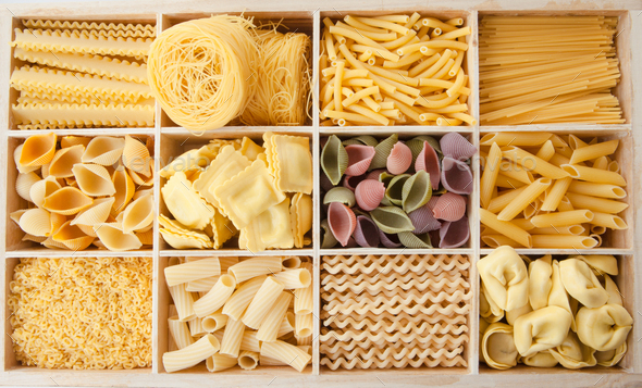 We love pasta - Stock Photo - Images