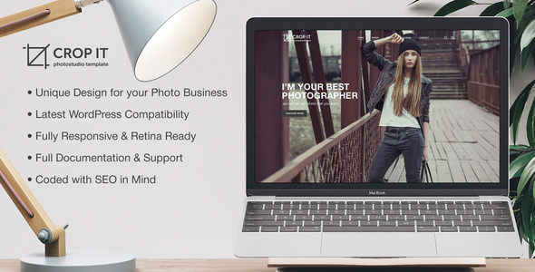 CropIt | WordPress Photography Theme