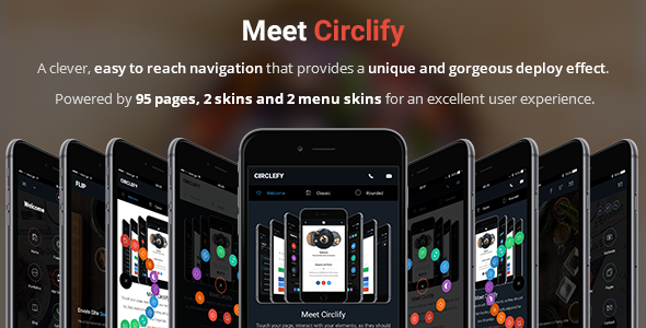 Circlify | Mobile & Tablet Responsive Template