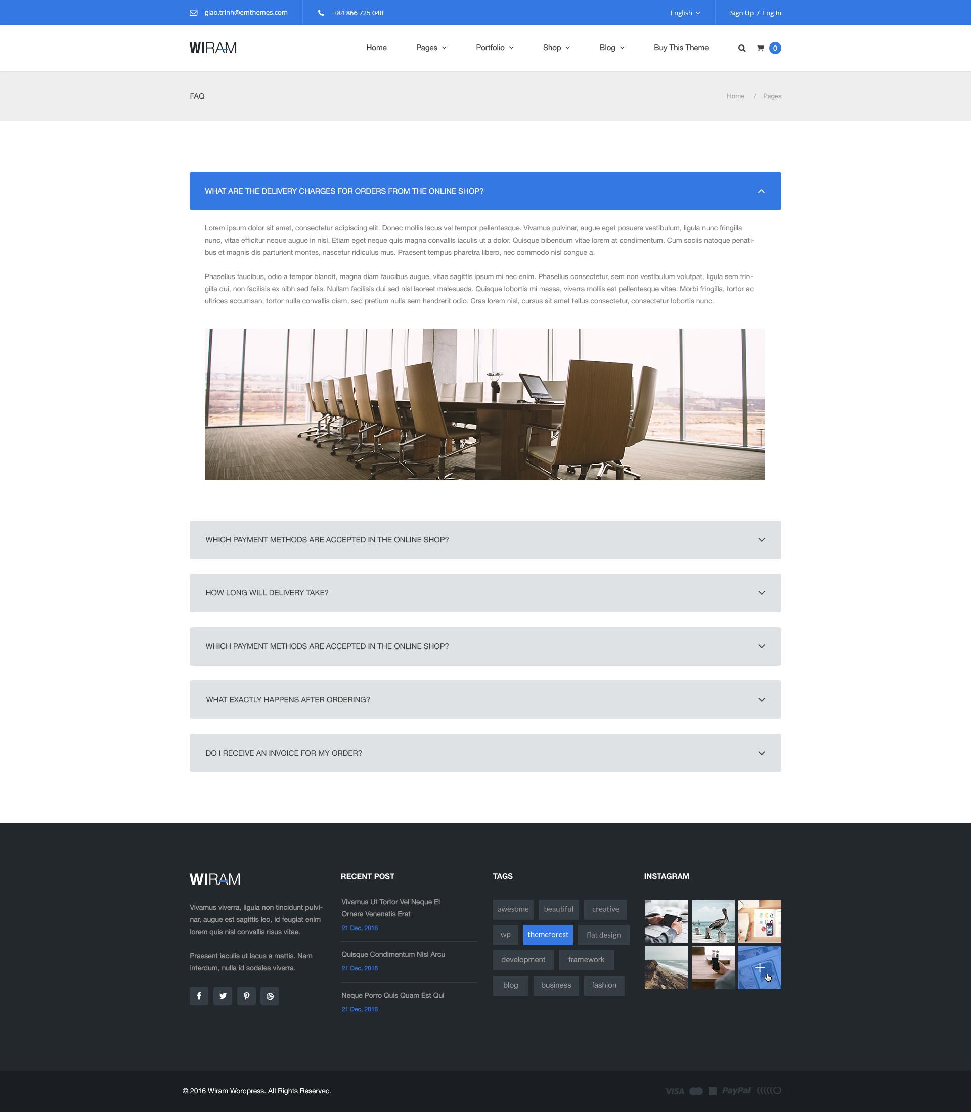 WPDANCE - Multipurpose WooCommerce WordPress Theme | WIRAM by tvlgiao