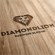 Diamond Lion Logo Template