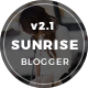 Sunrise & Sunset - Personal & Magazine Blogger Template - ThemeForest Item for Sale