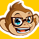 Cheeky Monkey Mascot in Different Poses - GraphicRiver Item for Sale