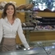 Woman Comes To The Counter At The Pastry Shop - VideoHive Item for Sale