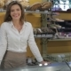 Female Seller Puts Her Hands On Counter At The Pastry Shop - VideoHive Item for Sale