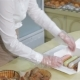 Seller Packs Brewing Cakes At The Pastry Shop - VideoHive Item for Sale