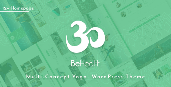 BeHealth – Multi-Purpose WordPress Theme for Yoga – Health – Beauty – Shop