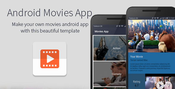 Android Movies App - CodeCanyon Item for Sale