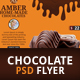 Chocolate Flyer Template - GraphicRiver Item for Sale