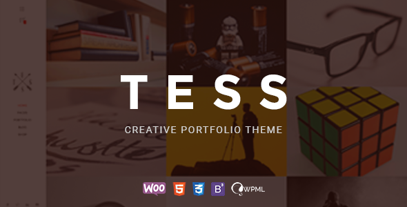 TESS - Creative Portfolio WordPress Theme