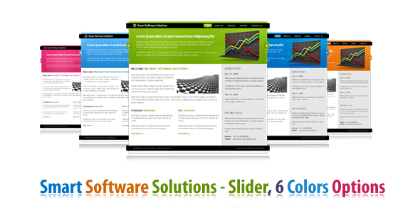 Smart Software Solutions – In 6 colors