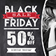 Chalk Black Friday Sales Banner Ads - GraphicRiver Item for Sale