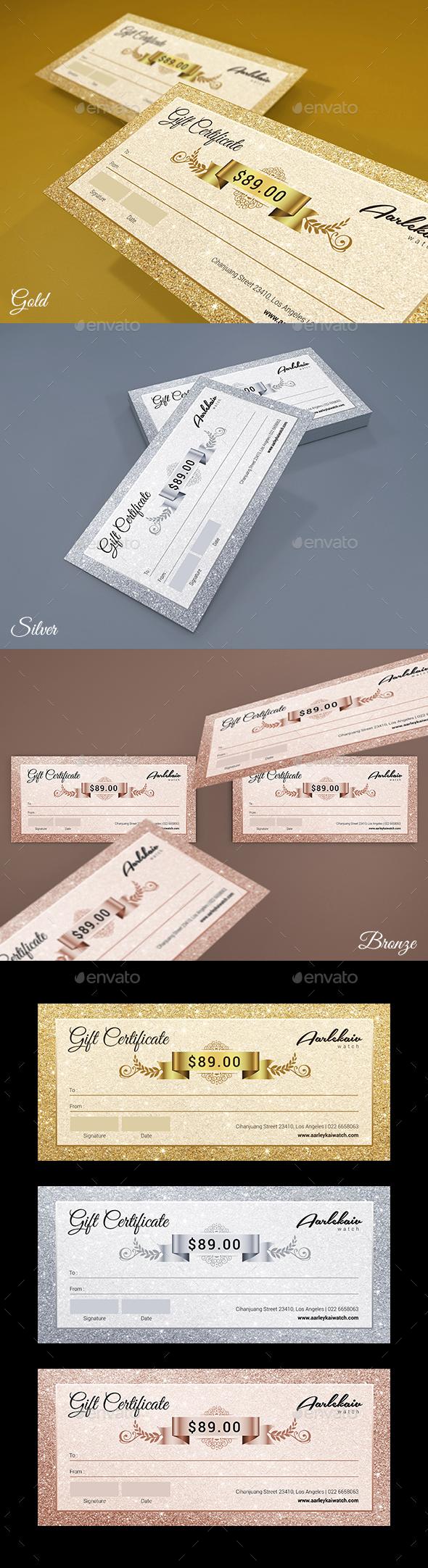 Elegant Gift Certificate