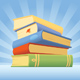 Stack of books - GraphicRiver Item for Sale