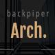 backpiperArch - Architecture,Interior, Portfolio PSD Template - ThemeForest Item for Sale