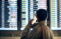 Timetable Business Travel Arrival Departure Trip Concept