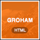 Groham - Fashion eCommerce HTML template
