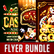 Casino Flyer Bundle Vol.1 - GraphicRiver Item for Sale