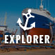 Explorer - Factory Construction & Ship Building WordPress Theme Nulled