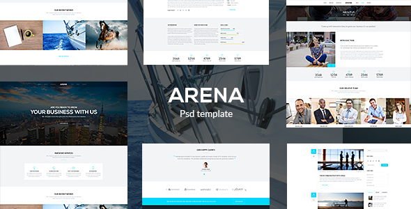 Arena – Business PSD Template