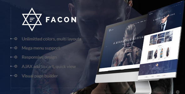 Facon – Fashion Responsive WordPress Theme