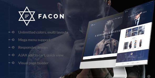 Facon – Fashion Responsive WordPress Theme