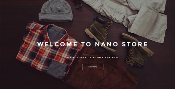 Nano - Material Design Woocommerce Theme