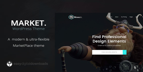 Market – Marketplace WordPress Theme